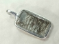 Preview: Tourmaline Quartz Pendant, 925 Silver, 31mm, No.6