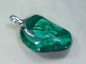 Preview: Malachite Pendant, 925 Silver, 47mm, No.3