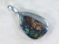 Preview: Boulder Opal Pendant, 31mm, 925 Silver, No.146