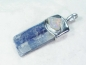 Preview: Kyanite pendant blue with Welo Opal, 925 Silver, 49mm, No.6