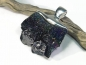 Preview: Silicon carbide pendant with 925 silver, 33mm, No.4